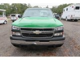 2006 Dark Green Metallic Chevrolet Silverado 1500 Work Truck Regular Cab #138488374