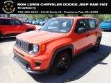 2020 Omaha Orange Jeep Renegade Sport #138487062