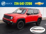 2018 Colorado Red Jeep Renegade Trailhawk 4x4 #138488349