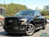 2016 Shadow Black Ford F150 XLT SuperCab #138484846