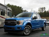 2019 Velocity Blue Ford F150 XLT SuperCab #138484845