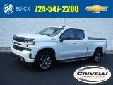 2019 Summit White Chevrolet Silverado 1500 RST Double Cab 4WD #138488337