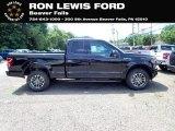 2020 Agate Black Ford F150 XLT SuperCab 4x4 #138487025