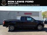2020 Agate Black Ford F150 XLT SuperCab 4x4 #138487001