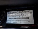 2020 F150 Color Code for Agate Black - Color Code: UM