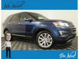 2016 Blue Jeans Metallic Ford Explorer Limited 4WD #138488214
