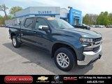 2020 Shadow Gray Metallic Chevrolet Silverado 1500 LT Crew Cab 4x4 #138488616