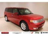2010 Red Candy Metallic Ford Flex SEL AWD #138488609