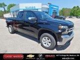 2020 Black Chevrolet Silverado 1500 LT Double Cab 4x4 #138488602