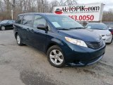 2011 South Pacific Blue Pearl Toyota Sienna V6 #138487410