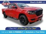 2020 Flame Red Ram 1500 Big Horn Quad Cab 4x4 #138486759