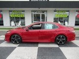 2019 Supersonic Red Toyota Camry XSE #138488012