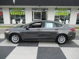 2017 Magnetic Ford Fusion S #138487986