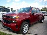 2020 Cajun Red Tintcoat Chevrolet Silverado 1500 Custom Crew Cab 4x4 #138801847
