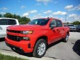2020 Red Hot Chevrolet Silverado 1500 Custom Crew Cab 4x4 #138801846