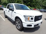 Oxford White Ford F150 in 2020