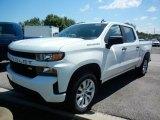 2020 Summit White Chevrolet Silverado 1500 Custom Crew Cab 4x4 #138801838