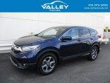 2017 Obsidian Blue Pearl Honda CR-V EX AWD #138799910
