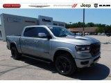 2020 Billet Silver Metallic Ram 1500 Laramie Crew Cab 4x4 #138801500