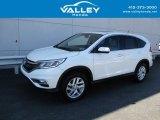 2015 White Diamond Pearl Honda CR-V EX #138799904