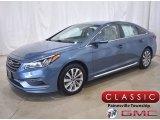 2017 Lakeside Blue Hyundai Sonata Sport #138801495