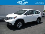 2014 White Diamond Pearl Honda CR-V LX AWD #138799897