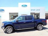 2020 Blue Jeans Ford F150 XLT SuperCrew 4x4 #138802108