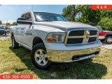 2011 Bright White Dodge Ram 1500 SLT Quad Cab 4x4 #138802095