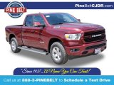 2020 Delmonico Red Pearl Ram 1500 Big Horn Quad Cab 4x4 #138800139