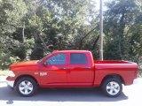 2020 Flame Red Ram 1500 Classic Tradesman Crew Cab 4x4 #138799789