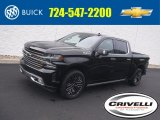 2019 Black Chevrolet Silverado 1500 High Country Crew Cab 4WD #138801400