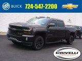 2016 Tungsten Metallic Chevrolet Silverado 1500 LT Crew Cab 4x4 #138801399