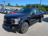 2020 Agate Black Ford F150 XLT SuperCab 4x4 #138802020