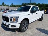2020 Oxford White Ford F150 STX SuperCab 4x4 #138802018