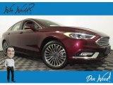 2017 Burgundy Velvet Ford Fusion Titanium #138801355