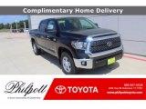 2020 Midnight Black Metallic Toyota Tundra TSS Off Road CrewMax #138801077