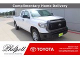 2020 Super White Toyota Tundra SR Double Cab #138801075