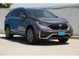 2020 Modern Steel Metallic Honda CR-V Touring AWD Hybrid #138800698