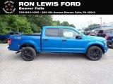 2020 Velocity Blue Ford F150 STX SuperCrew 4x4 #138800275