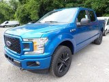 2020 Ford F150 STX SuperCrew 4x4 Front 3/4 View