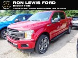 2020 Rapid Red Ford F150 XLT SuperCrew 4x4 #138800270