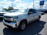 2020 Silver Ice Metallic Chevrolet Silverado 1500 LT Crew Cab 4x4 #138801869