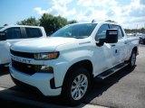2020 Summit White Chevrolet Silverado 1500 Custom Crew Cab 4x4 #138801868