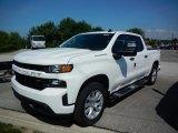 2020 Summit White Chevrolet Silverado 1500 Custom Crew Cab 4x4 #138801867