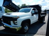 2020 Chevrolet Silverado 3500HD Work Truck Crew Cab 4x4 Dump Truck Data, Info and Specs