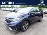 2020 Obsidian Blue Pearl Honda CR-V LX AWD #138960651