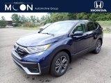2020 Obsidian Blue Pearl Honda CR-V EX-L AWD #138960647