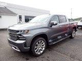 2020 Satin Steel Metallic Chevrolet Silverado 1500 High Country Crew Cab 4x4 #138960629