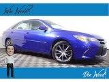 2015 Blue Crush Metallic Toyota Camry XSE #138960702