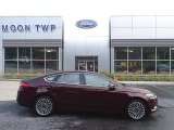 2017 Ruby Red Ford Fusion SE AWD #138974542